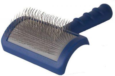 brush for diy goldendoodle spa day